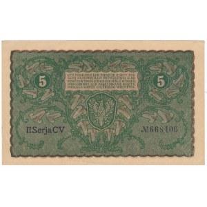 5 marek 1919 - II Serja CV -