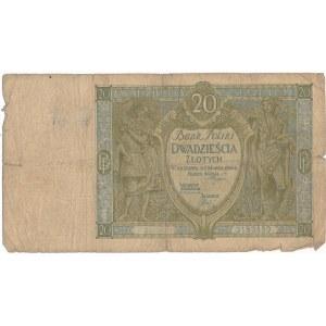20 złotych 1926 - Ser.A.R. - seria nieodnotowana w ostatnim wydaniu katalogu Cz.Miłczaka