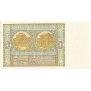 50 złotych 1929 - Ser.EW. -