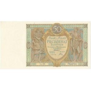 50 złotych 1929 - Ser.DR. -