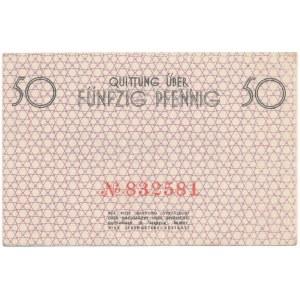 50 fenigów 1940 - numerator czerwony