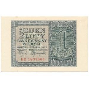 1 złoty 1941 - BD -