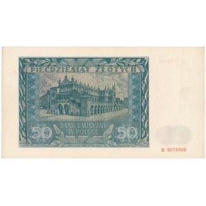 50 złotych 1941 - D -
