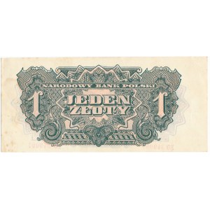 1 złoty 1944 ... owym - EO -
