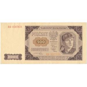 500 złotych 1948 - BD -