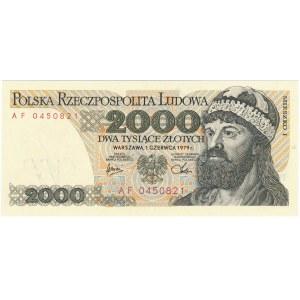 2.000 złotych 1979 - AF -