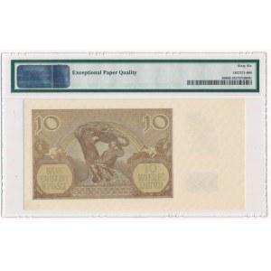 10 złotych 1940 - A - PMG 66 EPQ