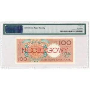 100 złotych 1990 - A - NIEOBIEGOWY - PMG 66 EPQ