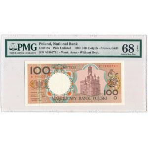 100 złotych 1990 - A - PMG 68 EPQ