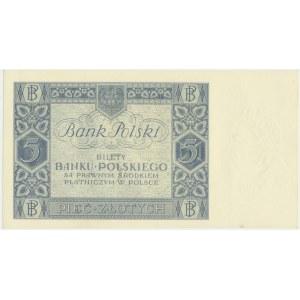 5 złotych 1930 - Ser. DV. -