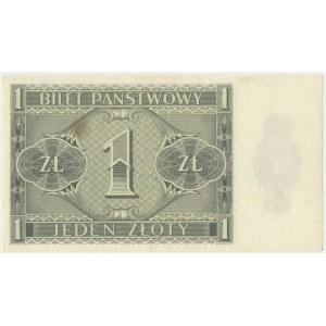 1 złoty 1938 - IK -