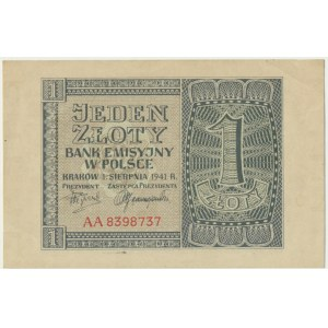 1 złoty 1941 - AA -