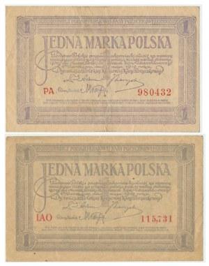 1 marka 1919 - IAO - oraz - PA -