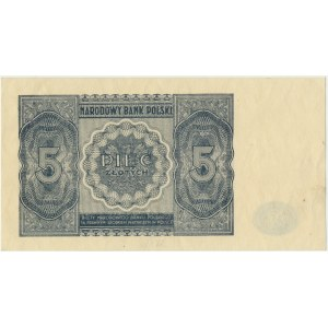 5 złotych 1946 -