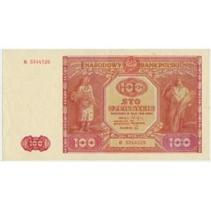 100 złotych 1946 - K -