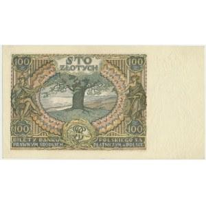 100 złotych 1932 - Ser.AO. - znw. kreski na dole