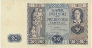 20 złotych 1936 - CU -