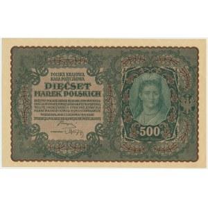 500 marek 1919 - I Serja BD -