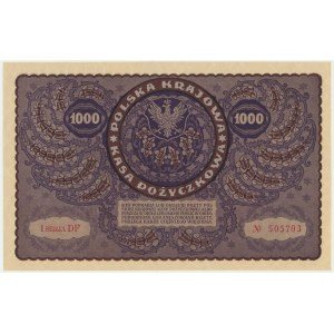 1.000 marek 1919 - I Serja DF -