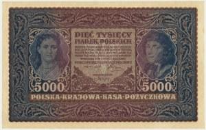 5.000 marek 1920 - III Serja Z -