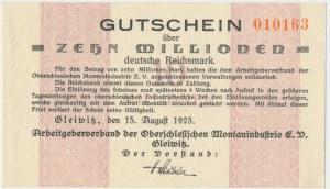 Gleiwitz (Gliwice), 10 milionów marek 1923