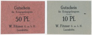 Laurahütte (Huta Laura) Zestaw 10-50 fenigów (2 szt.) 1917