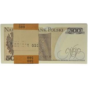 Paczka Bankowa 500 złotych 1982 - GE - (100 szt.)