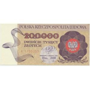 200.000 złotych 1989 - A -