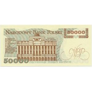 50.000 złotych 1989 - H -