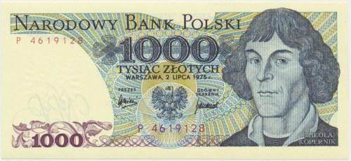 1.000 złotych 1975 - P -
