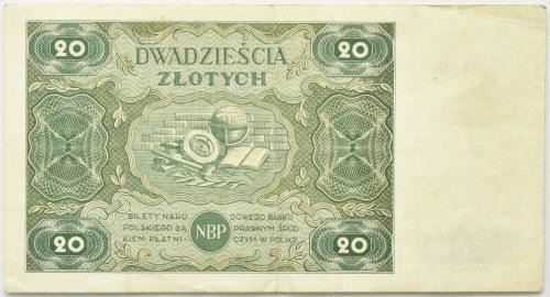 20 złotych 1947 - D -