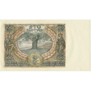 100 złotych 1934 - Ser.C.H -