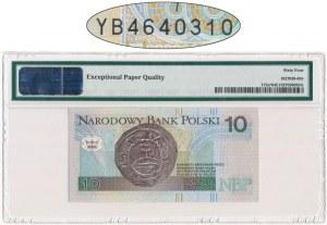 10 złotych 1994 - YB - PMG 64 EPQ