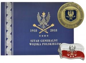 Pamiątki 100. Rocznicy Ustanowienia Sztabu Generalnego Wojska Polskiego