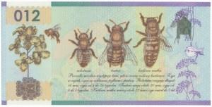 PWPW 012, Pszczoła (2012) - druk bez warstwy głównej