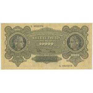 10.000 marek 1922 - L -