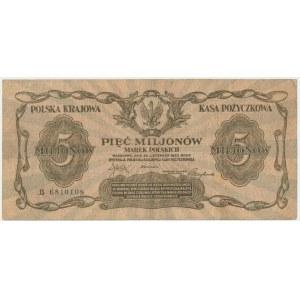 5 milionów marek 1923 - B -