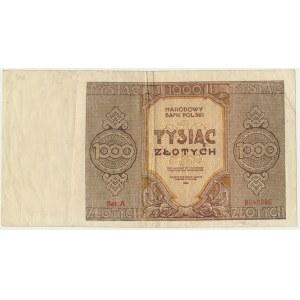 1.000 złotych 1945 - A -