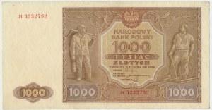 1.000 złotych 1946 - M -