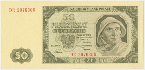 50 złotych 1948 - DR -