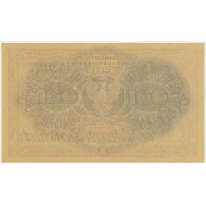 100 marek 1919 - AH - REPRINT