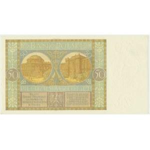 50 złotych 1929 - Ser.EG. -