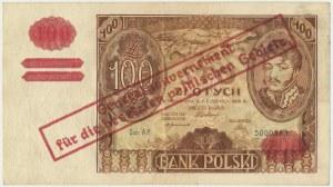 100 złotych 1932(9) - fałszywy przedruk okupacyjny - AP -