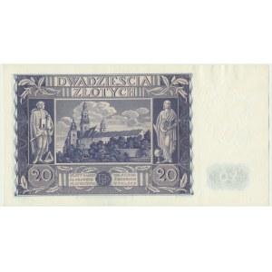20 złotych 1936 - BR -