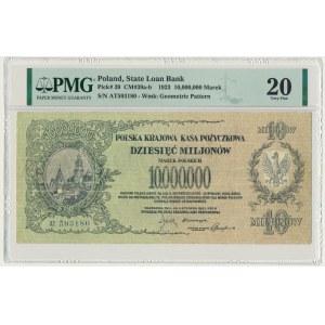 10 milionów 1923 - AT - PMG 20 - RZADKI