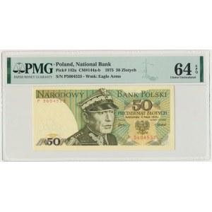 50 złotych 1975 - P - PMG 64 EPQ