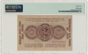 Kowno 2 marki 1918 - A - PMG 35 - atrakcyjny