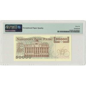 50.000 złotych 1993 - S - PMG 66 EPQ
