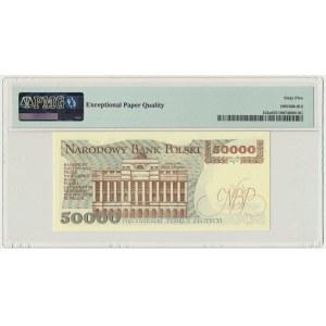 50.000 złotych 1989 - AC - PMG 65 EPQ