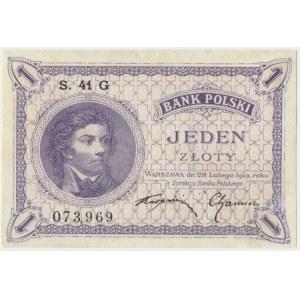 1 złoty 1919 - S.41 G -